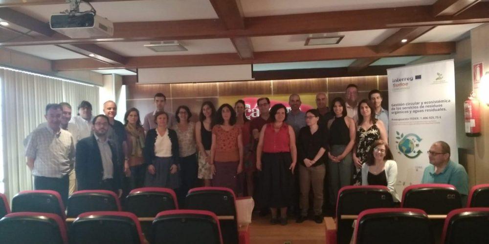 (ES) Segunda Jornada De La Reunión De Coordinación Del Proyecto Cemowas2 En Cámara Badajoz