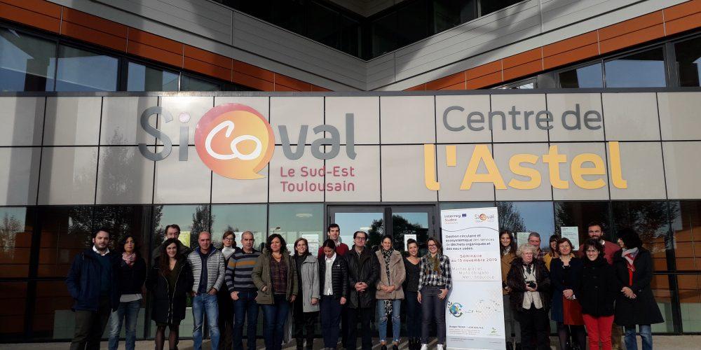 (ES) Finaliza La Cuarta Reunión De Coordinación Del Proyecto Cemowas2 De Interreg Sudoe En Sicoval, Francia Para Socios Y Asociados Del Proyecto.