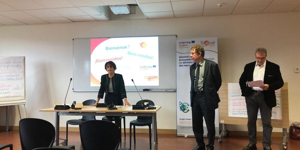 (ES) Comienza La 4ª Reunión De Coordinación Del Proyecto Cemowas2 De Interreg Sudoe En Sicoval