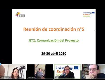 (ES) FINALIZA LA QUINTA REUNIÓN DE COORDINACIÓN DEL PROYECTO CEMOWAS2