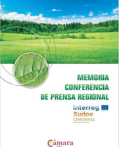 (ES) Conferencia De Prensa De Cámara Badajoz Sobre El Proyecto Cemowas2