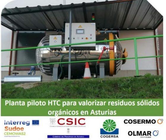 (ES)Planta Piloto HTC Para Valorizar Residuos Sólidos Orgánicos En Asturias
